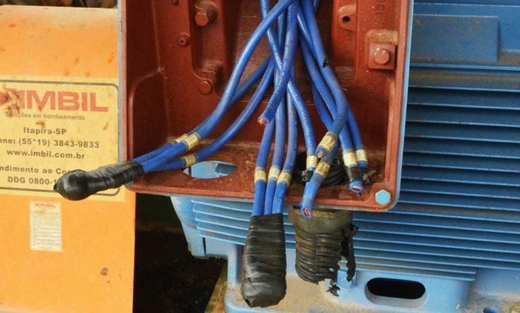 Captação de água do Barreiro sofre furtos de cabos elétricos
