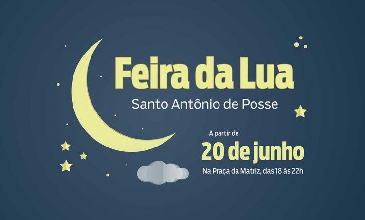 Prefeitura inaugura Feira da Lua na quarta-feira, dia 20 de junho