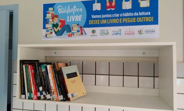 Biblioteca Livre é instalada no Pronto Socorro