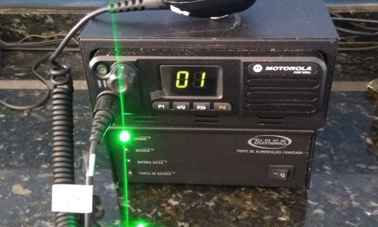 Polícia Municipal configura rádios e HTs para trabalho cooperativo intermunicipal