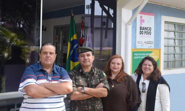 Junta Militar de Santo Antônio de Posse recebe Visita de Orientação Técnica