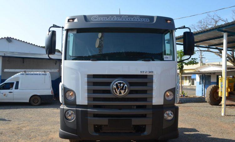 Departamento de Água e Esgoto recebe novo caminhão na segunda-feira, dia 3