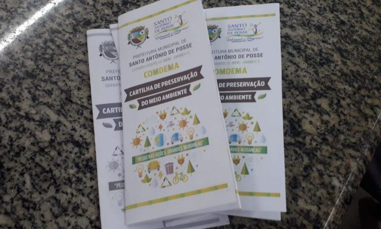 Cartilha educacional sobre Meio Ambiente é aprovada pelo COMDEMA