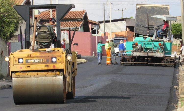 Finalizada mais uma obra de recapeamento no município