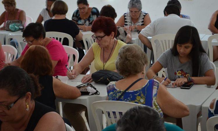 Bingo Beneficente é realizado em comemoração ao Mês do Idoso