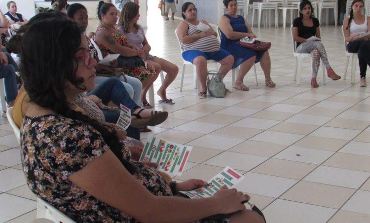 Futuras mamães participam do terceiro encontro do Grupo de Gestantes