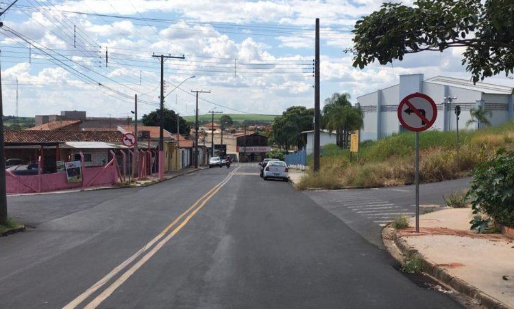 Rua do município tem mudança de trânsito