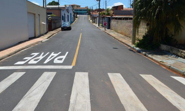 Mais uma obra de recapeamento asfáltico é concluída no município