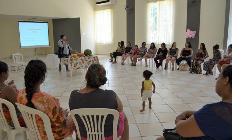 Saúde realiza mais um encontro do Grupo de Gestantes