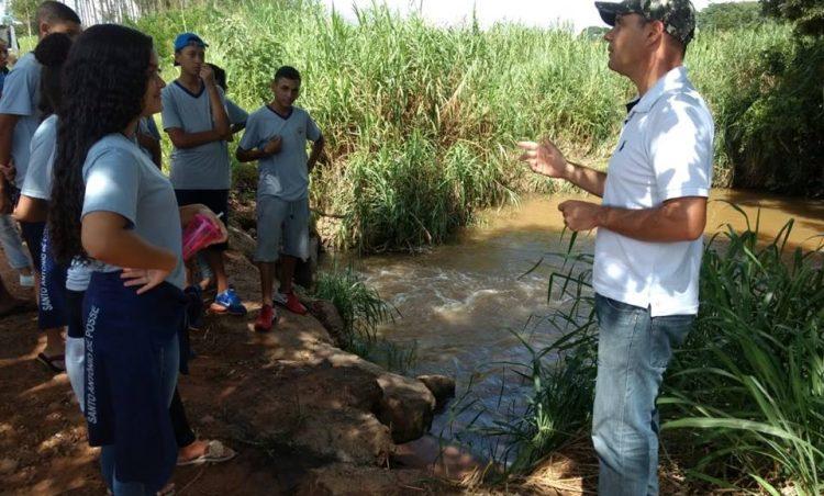 Ações educativas são realizadas para comemorar Dia Internacional da Água