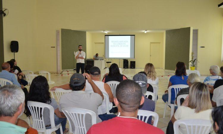 Saúde realiza Reunião Ampliada do Conselho Municipal