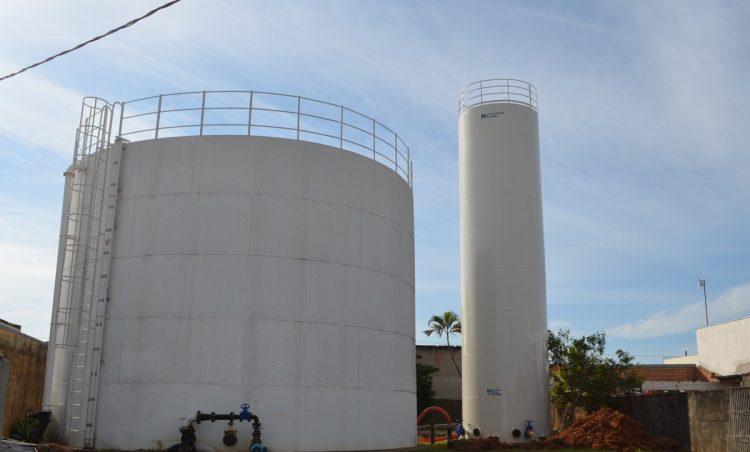 Reservatório de água da Pedra Branca é substituído