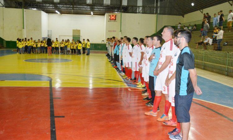 Campeonato Municipal de Futsal teve início na quinta-feira, dia 30