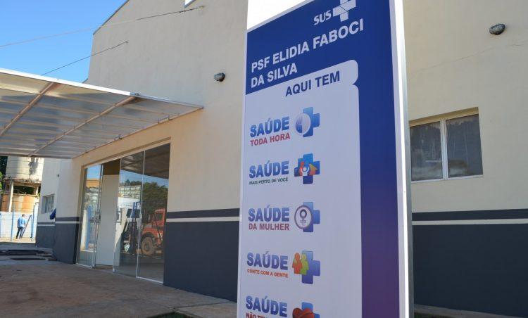 Prefeitura inaugura novo prédio do PSF Rincão na sexta, dia 31 de maio