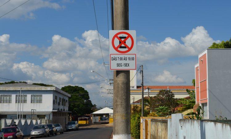Atenção: sinalização da Avenida da Saudade sofre alteração