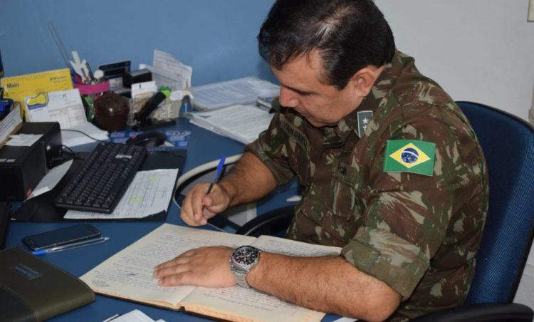Visita de Orientação Técnica é realizada na Junta Militar do município