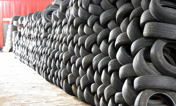 Município participa de campanha estadual para descarte correto de pneus