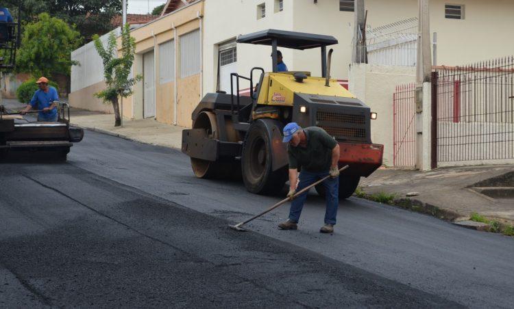 Mais obras de pavimentação asfáltica são concluídas no município