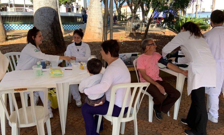 Saúde em Ação movimentou o sábado dos possenses
