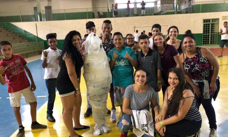 Alunos do CRAS participam de Jogos Cooperativos