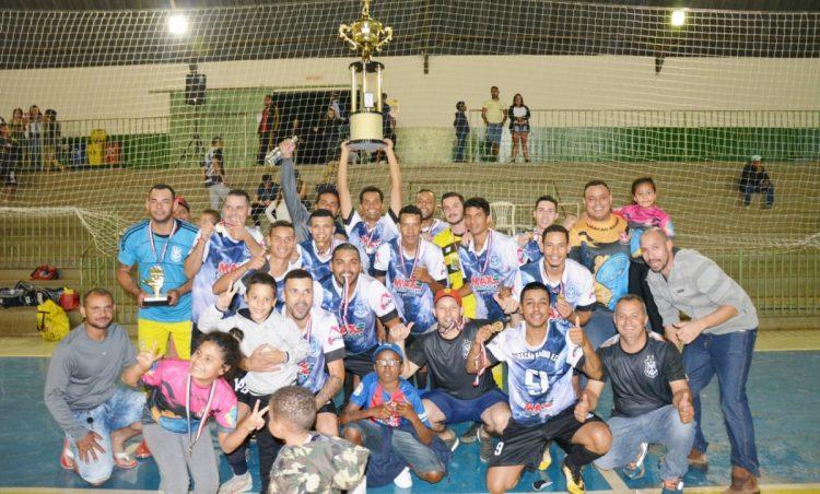 Furacão Baiano é o campeão do Campeonato Municipal de Futsal
