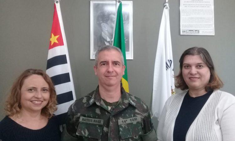 Junta Militar do município recebe Visita de Orientação Técnica
