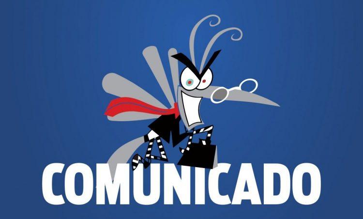 COMUNICADO – Controles de Vetores