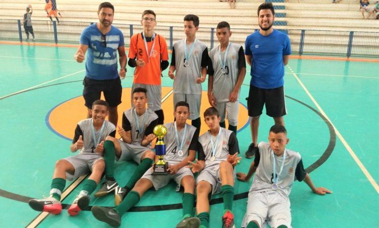 Sub-14 do Educa Esporte é vice-campeão em competição