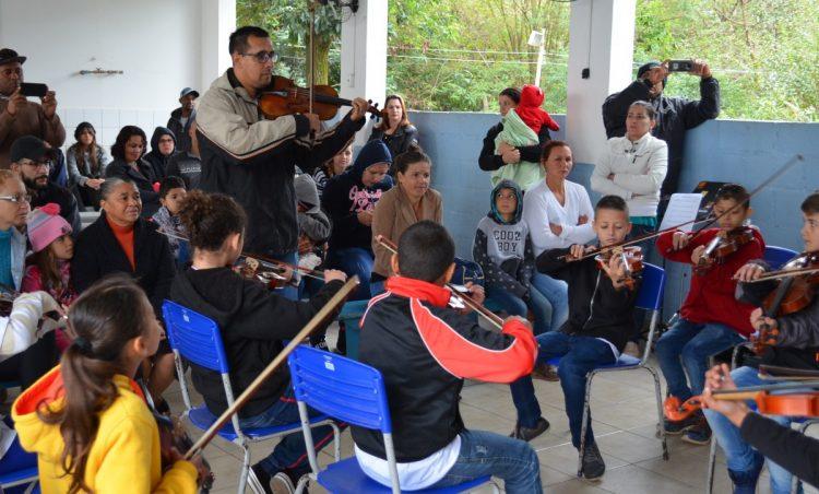 Projeto Spallas realiza apresentação em 30 de novembro