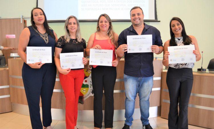 Novos integrantes do Conselho Tutelar de Santo Antônio de Posse tomam posse