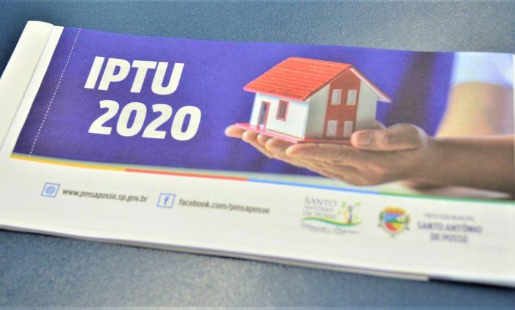 IPTU 2020: entrega de carnês tem início dia 11 deste mês