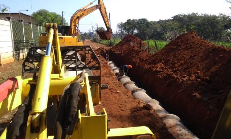 Após TAC, tem início as obras no bairro Chácaras Santo Antônio