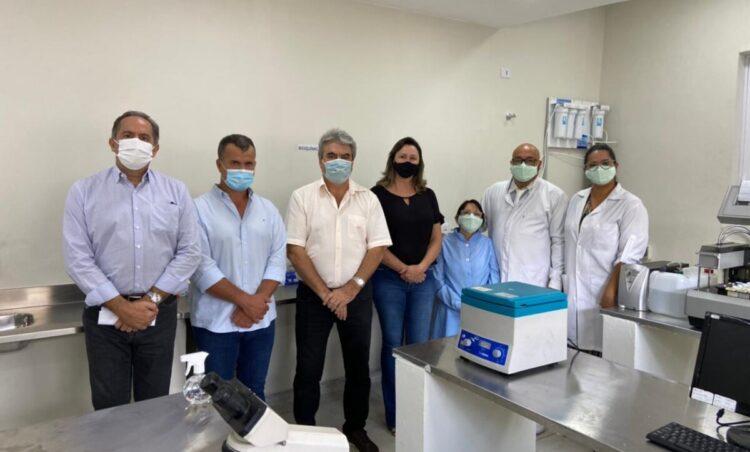 Saúde retoma os serviços de laboratório de análises clínicas no município