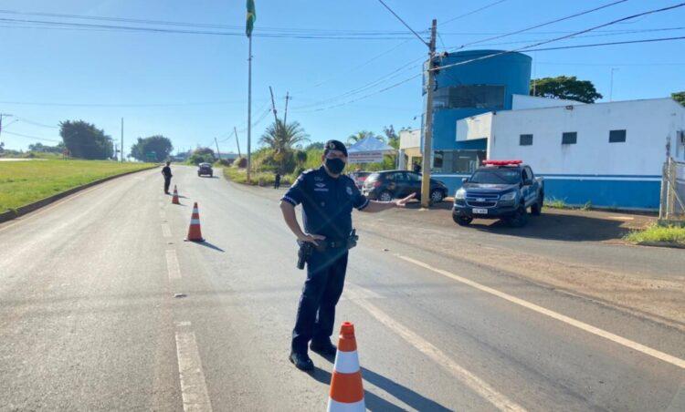 Prefeitura de Santo Antônio de Posse realiza barreira sanitária