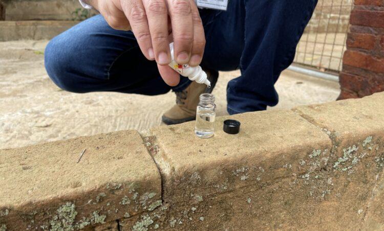 DAE e Vigilância Sanitária realizam análise de água no Rincão
